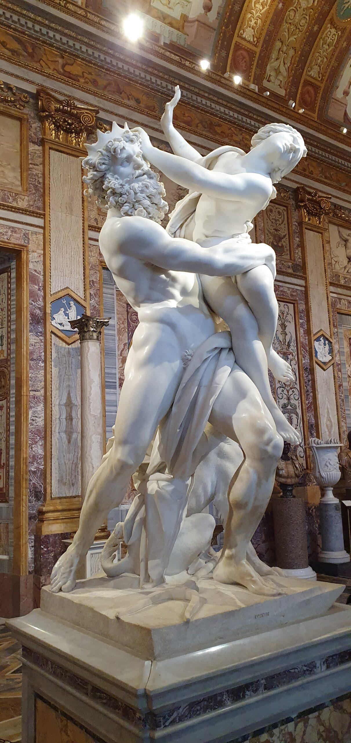 """The Rape of Proserpine"", Borghese Gallery"