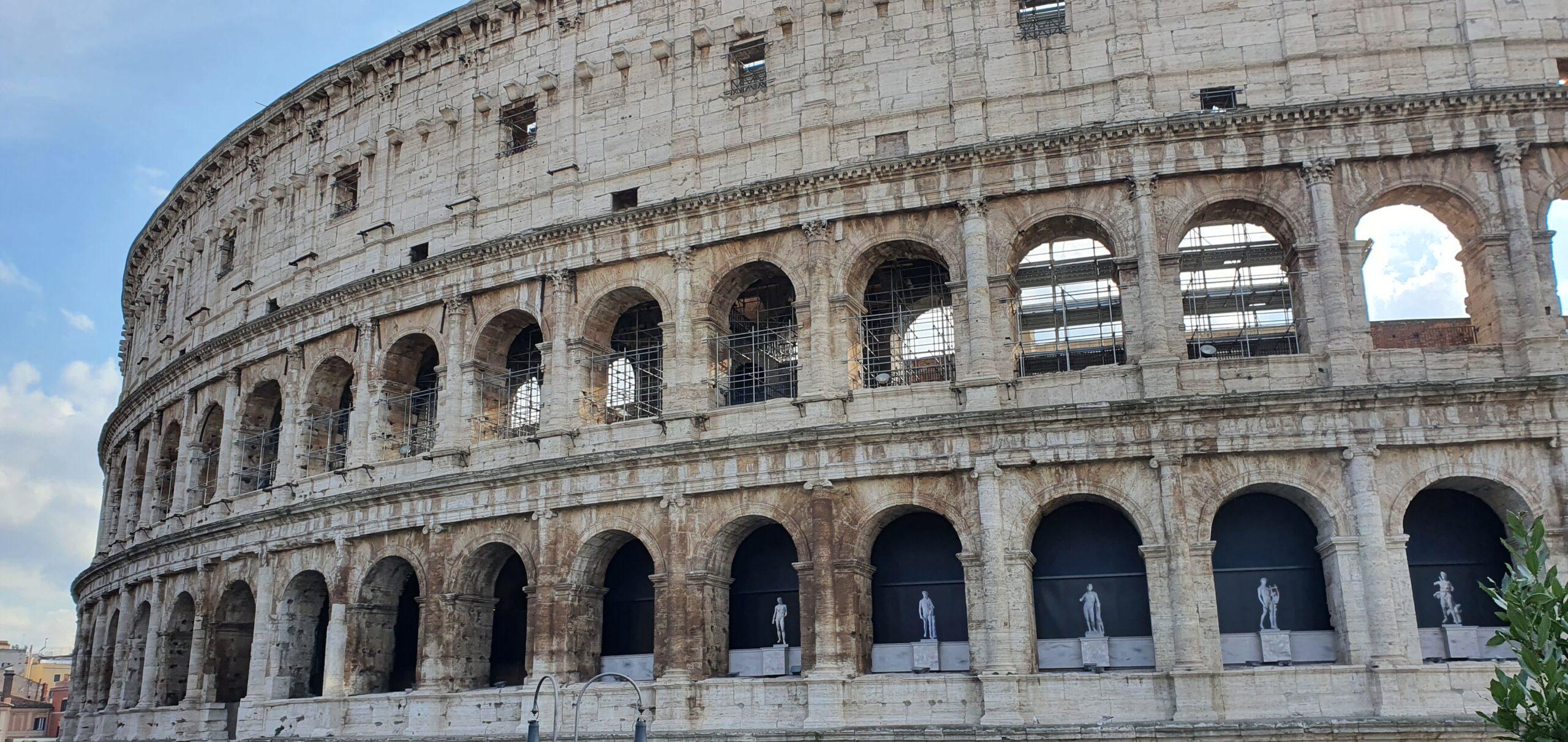 Colosseum, outside